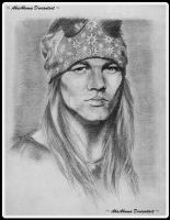 Axl Rose by AkaAkuma