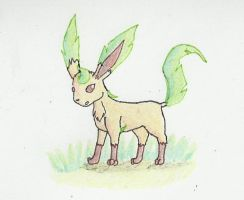 Leafeon -- Contest Entry by FirionRoseII