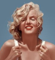 marilyn monroe by Tayfunsezer