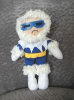 Captain Cold Plush by furrychaos