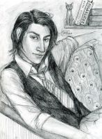 Severus Snape by Selunec