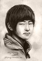 SHINee Leader Onew Sketch 1 by yoojeong
