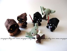 Star Wars Amigurumi Invasion by AnyaZoe