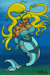 Cyber Mermaid by ArchangelDreadnought