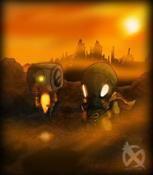 Child of the Wasteland by XARI0N