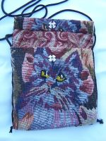 Tapestry Cats Purse by WhiteAntCrawls