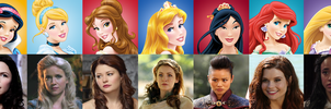All Disney/OUAT Princesses by Sigrey