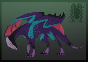 Toxic Dragon Adoptable - Closed by Inemiset
