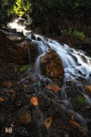 Mineral Fork Falls by mjohanson