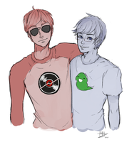 Bros by mirahiko