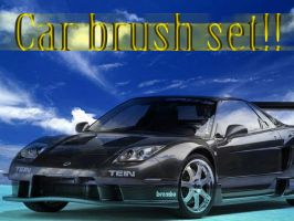 Cars brush set by X-Cerberus-X