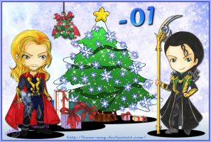 2013 Advent Calendar -01 by Hana-May