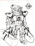 Ec40 Lineart by xoes