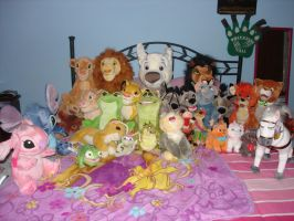 My Disney Plush Collection by PinkMermaidPrincess
