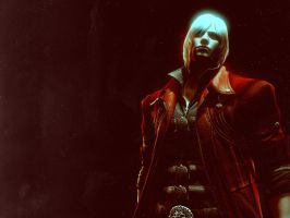 DMC4 Dante, Wallpaper by StreuneKatze