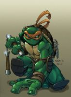 Ninja Turtle :: Mikey by Red-J