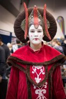 Supanova Perth 2014 - All rise for the Queen by Labrug