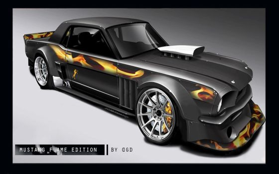 Mustang Flame Edition by DGDigital