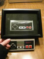 Recycled PopCan NES Controller by Christine-Eige