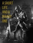 Edward Kenway quote 2 by ClarkArts24