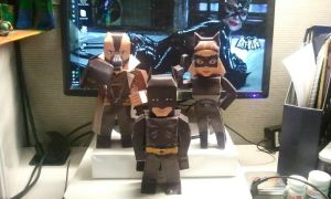 TDKR Papercraft by statenjp