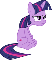 Grumpy Twilight Sparkle by stirfryarcade