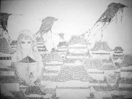 Musicbox-line art by Insanity-is-who-I-am