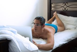 Work in bed by aviFerra