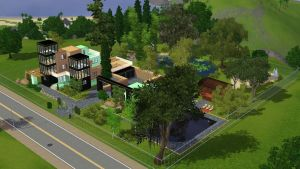 Sims 3 Tropical House by RamboRocky