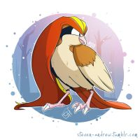 018 - Pidgeot by steven-andrew