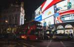 piccadilly circus by linahennessy