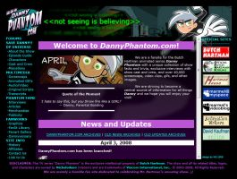 DannyPhantom.com by whitegryphon