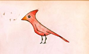 Red Cardinal by JakeHGuy