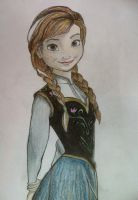 Princess Anna of Arendelle by cheekygirl-1997
