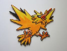 Zapdos by 8-BitBeadsStudio