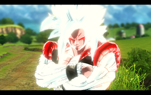 DBXV MOD: Gogeta Demon SSJ5 (Request) by Nassif9000