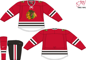 Chicago Blackhawks Road V4 by thepegasus1935