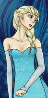 Close up: Elsa by Explodifirer