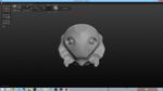Fish creature in Sculptris by TheBurningFist