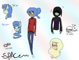 New OC and other stuff XD by SugarNspices