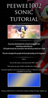 Sonic photoshop tutorial by peewee1002