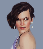 Milla Jovovich by ruthieee
