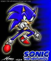 Generic Sonic Pose :p by Nomad-The-Hedgehog