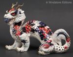 Koi Oriental Sun dragon by Reptangle