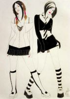 Fashion Sketch 1 by RoseOnyxis