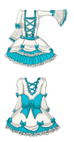 My lolita dress design by yuna-chicky-yummy