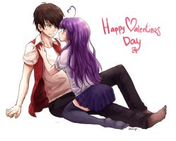 Happy Valentines day ^^ by RikkuTakedo