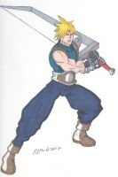 Final Fantasy VII- Cloud Strife by RobertMacQuarrie1