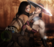 MKX - Mileena x Kung Lao - So, You and I? by SovietMentality
