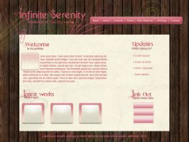 Cute Portfolio Flash Template by Ravenblade234